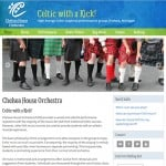 Chelsea House Orchestra website and marketing collateral