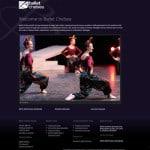 Ballet Chelsea website, digital marketing and social media