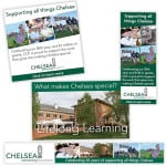 Chelsea Community Foundation digital and print advertising