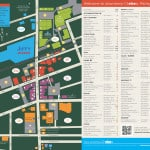 Outdoor map for downtown Chelsea
